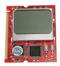 MIT Single LCD Mini PCI Debug Tester Card